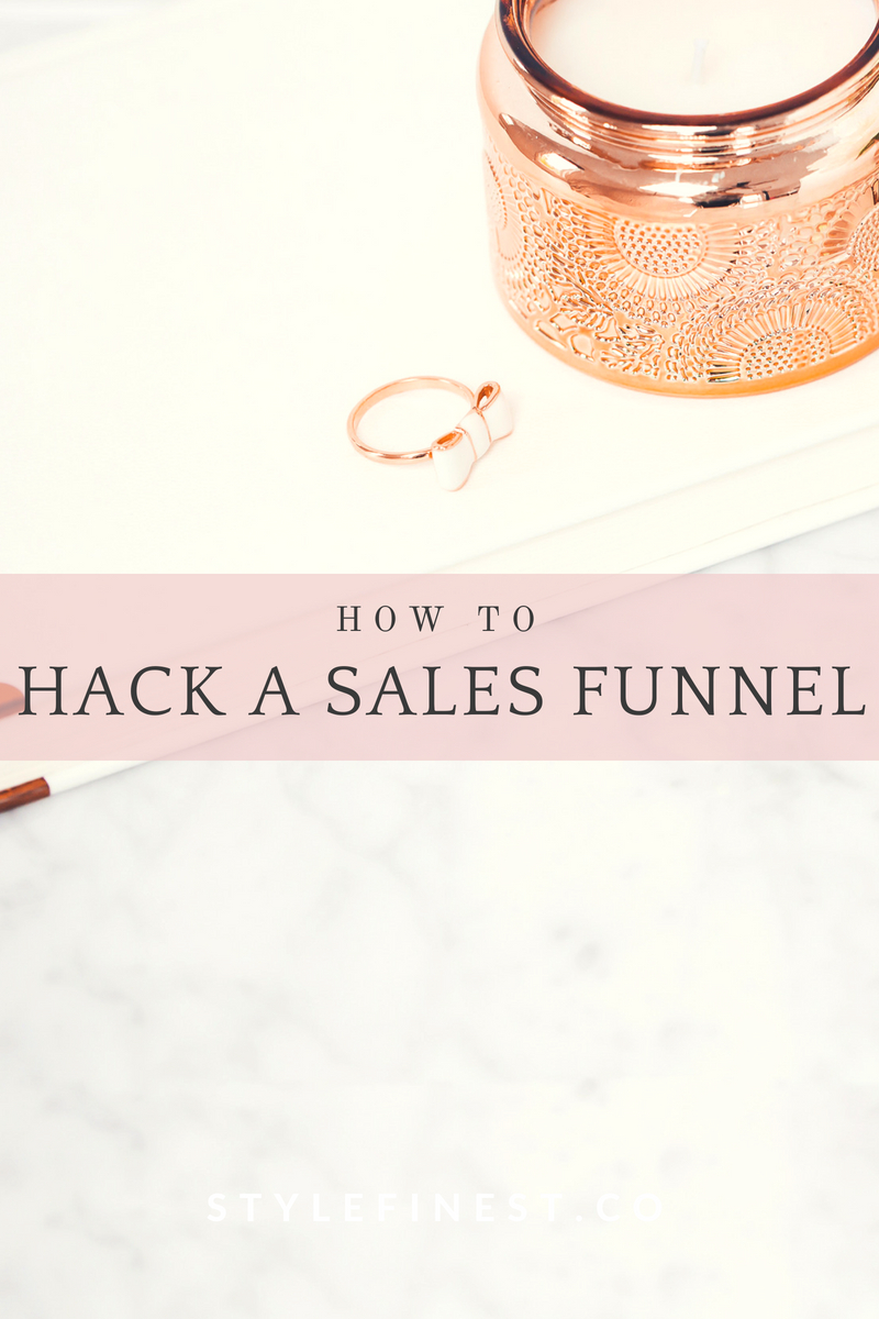 How to properly find a sales funnel and hack it for your own business